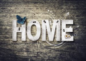 Home At Home Decoration Wood  - Comfreak / Pixabay