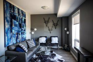 Living Room Blue Blue Painting  - DokaRyan / Pixabay